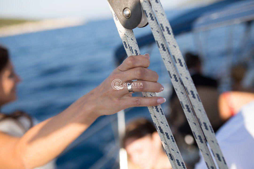 Romantic wedding on a boat  - 3 days