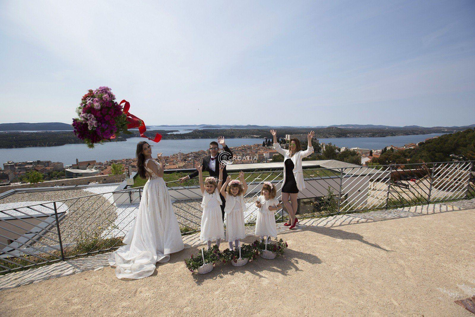 Wedding in Šibenik