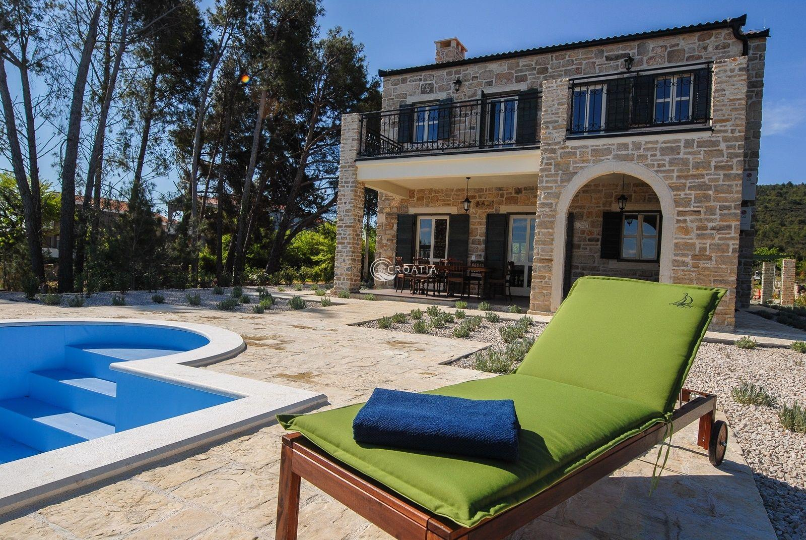Unique 5* stone Villa on island Pašman