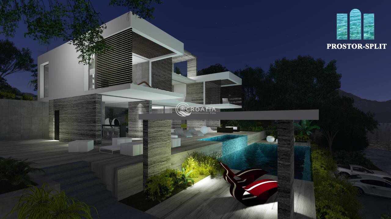 Luxury Villa under construction in Rogoznica