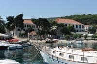Beach hotel on island Brač