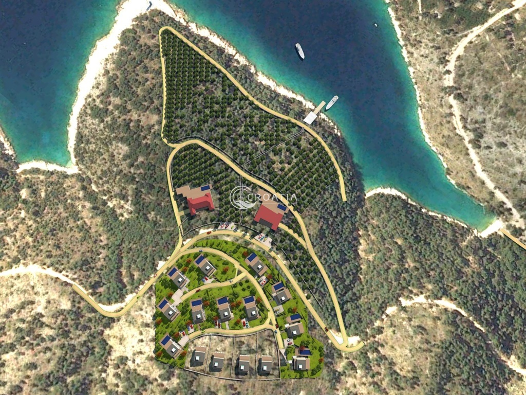Land ideal for OPG, 70 m from the sea